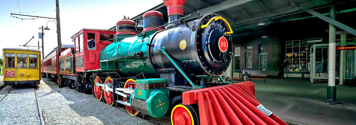Locomotive engine in Chattanooga, TN