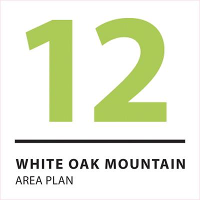 White Oak Mountain Area Plan Adopted