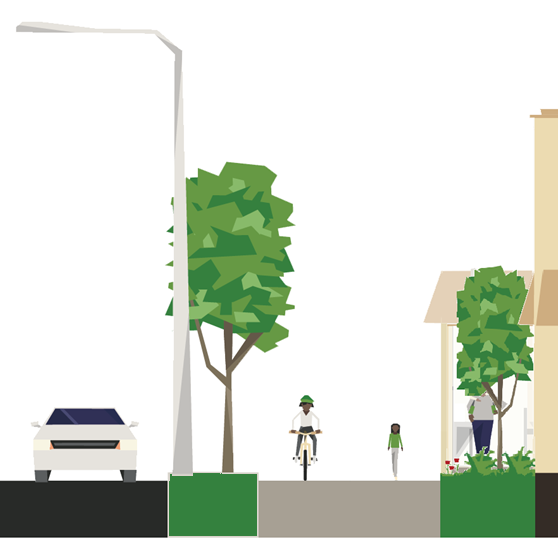 new development street diagram