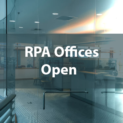 RPA Offices Open