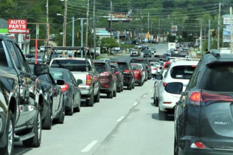 Photo _ Traffic Congestion E. Brainerd
